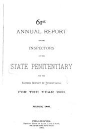 Annual Report of the Inspectors: Volumes 61-65