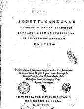 Sonetti, Canzoni, e Triomphi di messer Francesco Petrarcha con la spositione di Bernardino Daniello da Lucca