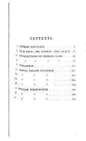 De Quincey's Writings: Volume 5
