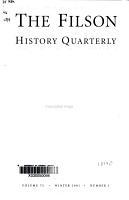 The Filson Club History Quarterly PDF