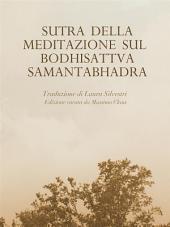 Sutra della Meditazione sul Bodhisattva Samantabhadra
