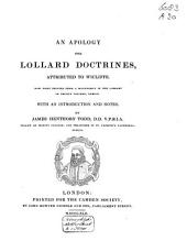 An Apology for Lollard Doctrines: Issue 20