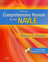 Saunders Comprehensive Review of the NAVLE   E Book PDF