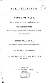 Nalopákhyánam: Story of Nala : an episode of the Mahá-Bhárata
