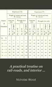 A Practical Treatise on Rail-roads, and Interior Communication in General ...