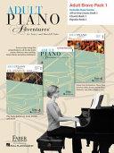 Adult Piano Adventures Level 1 Bravo Pack