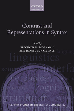Contrast and Representations in Syntax