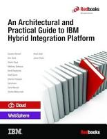 An Architectural and Practical Guide to IBM Hybrid Integration Platform PDF