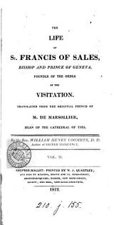 The life of st. Francis of Sales, tr. by W.H. Coombes