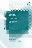 Ethics  Law and Society PDF