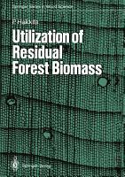 Utilization of Residual Forest Biomass PDF