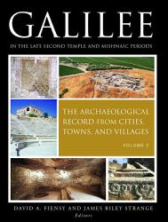 Galilee in the Late Second Temple and Mishnaic Periods  Volume 2 PDF