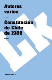 Constitución de Chile de 1980