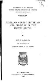Portland Cement Materials and Industry in the United States