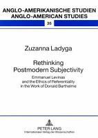Rethinking Postmodern Subjectivity PDF