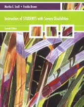 Instruction of Students with Severe Disabilities: Edition 7