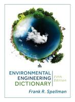 Environmental Engineering Dictionary PDF