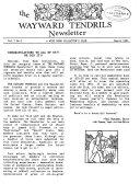 Wayward Tendrils Quarterly