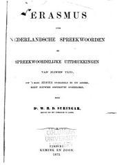 Erasmus: over, Nederlandsche spreekwoorden en spreekwoordelijke uitdrukkingen van zijnen tijd