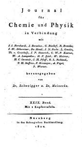 Journal für Chemie und Physik: Band 29