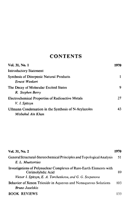 Record of Chemical Progress PDF