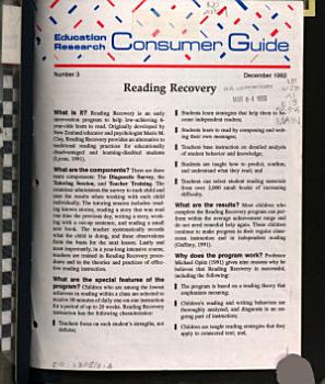 Education Research Consumer Guide PDF