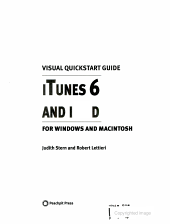 ITunes 6 and IPod for Windows and Macintosh PDF