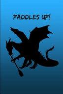 Paddles Up Dragon Boat Notebook