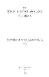 Proceedings: Volume 1
