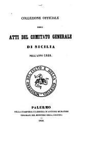 Collezione dei decreti del general parlamento di Sicilia, anno 1848