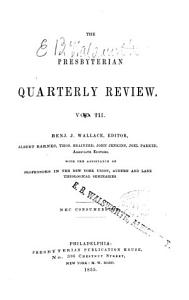 The Presbyterian Quarterly Review PDF