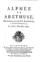 Alphée et Aréthuse