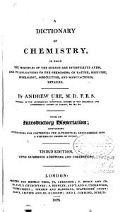 A Dictionary of Chemistry ...