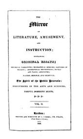 The Mirror of Literature, Amusement, and Instruction: Volume 2