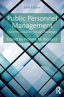 Public Personnel Management PDF