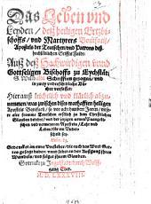 Das Leben und Leiden des Heil. Erzbischofs und Martyrers S. Bonifacii in Fulda