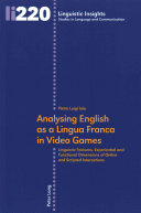 Analysing English As a Lingua Franca in Video Games PDF