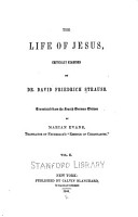 The Life of Jesus  Critically Examined PDF