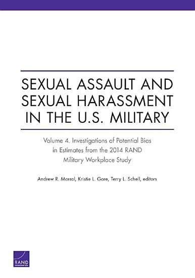 Sexual Assault and Sexual Harassment in the U S  Military PDF