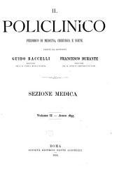 Il Policlinico: Sezione medica, Volume 2