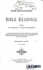 NOTES AND SUGGESTIONS FOR BIBLE READINGS PDF