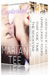 Captivated (A 4-in-1 Friends Romance Boxed Set)