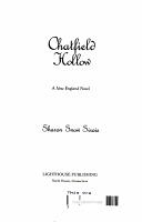 Chatfield Hollow PDF