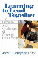 Learning to Lead Together PDF