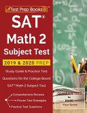 SAT Math 2 Subject Test 2019   2020 Prep