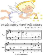 Angels Singing Church Bells Ringing - Beginner Tots Piano Sheet Music