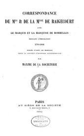Publications de la Société d'histoire contemporaine: Volume1