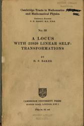 A Locus with 25920 Linear Self  Transformations PDF