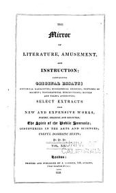 The Mirror of Literature, Amusement, and Instruction: Volume 12
