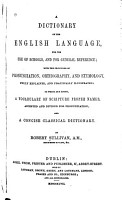 Dictionary of the English Language PDF